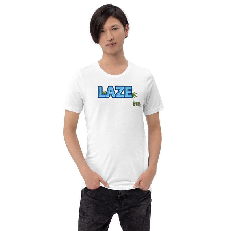 LAZE BUBBLE - TAG Short-Sleeve Unisex T-Shirt