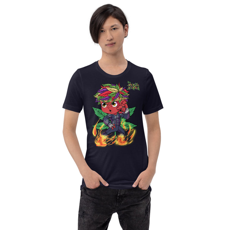 STICKE KUSH TANG-DAW-HIRO Mode Short-Sleeve Unisex T-Shirt