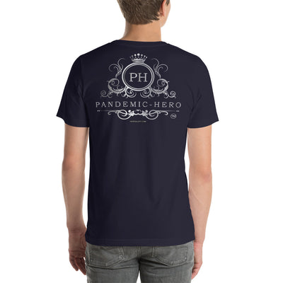 """PANDEMIC - HERO - 12"" Short-Sleeve Unisex T-Shirt"
