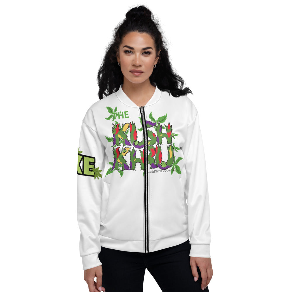 SEXE KUSH PRAK MODE Scope Unisex Bomber Jacket