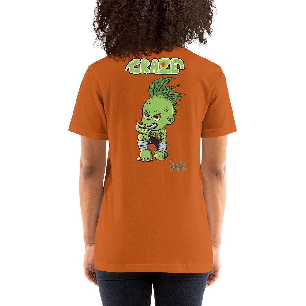 CRAZE KUSH TIRACCHAN Mode Short-Sleeve Unisex T-Shirt