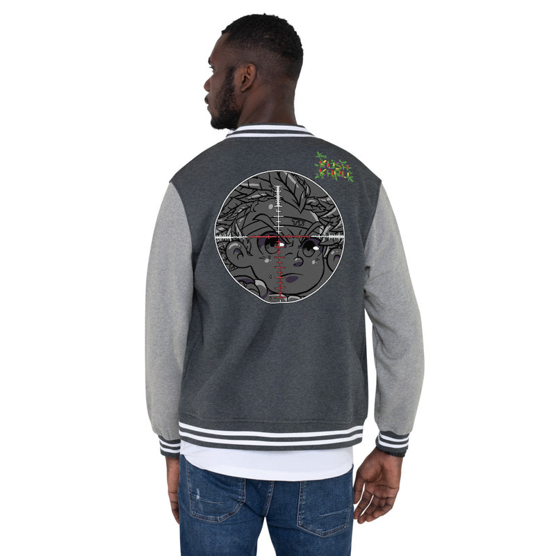 FUNNE KUSH PRAK MODE Scope Men's Letterman Jacket