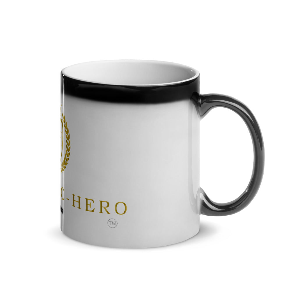 """PANDEMIC-HERO-7"" Glossy Magic Mug"