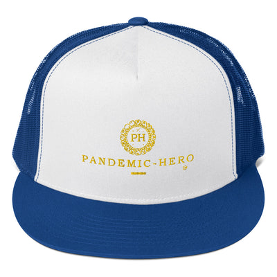 """PANDEMIC-HERO-3"" Trucker Cap"
