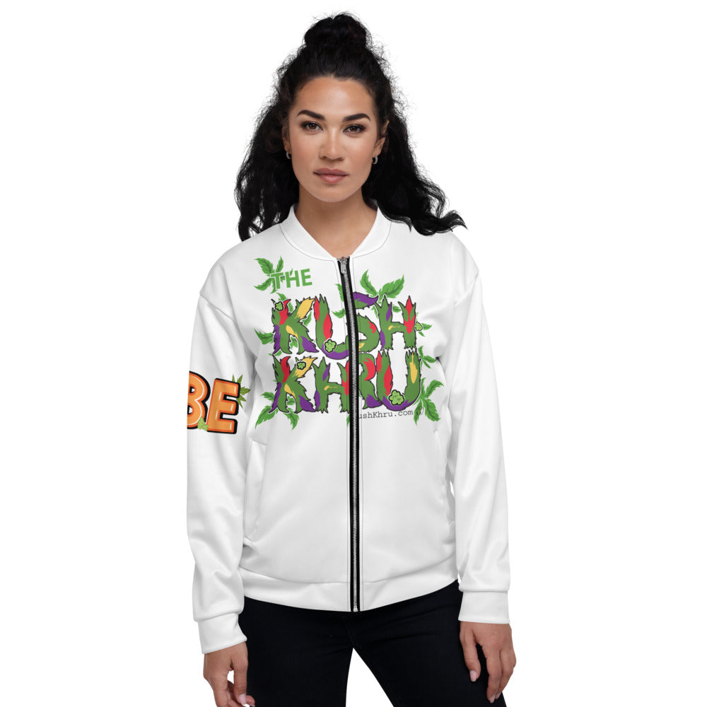 BABE KUSH PRAK MODE Scope  Unisex Bomber Jacket