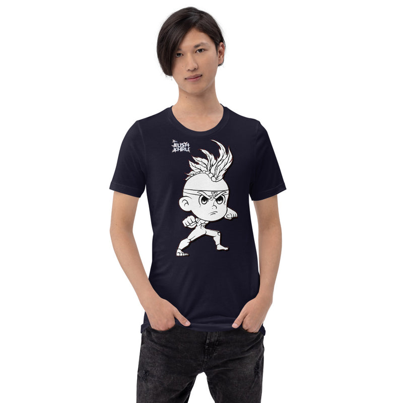 CRAZE KUSH TANG-DAW-HIRO Mode bw Short-Sleeve Unisex T-Shirt