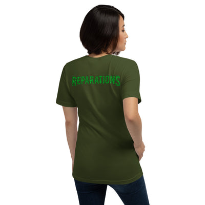 I HEART REPERATIONS lime   Short-Sleeve Unisex T-Shirt