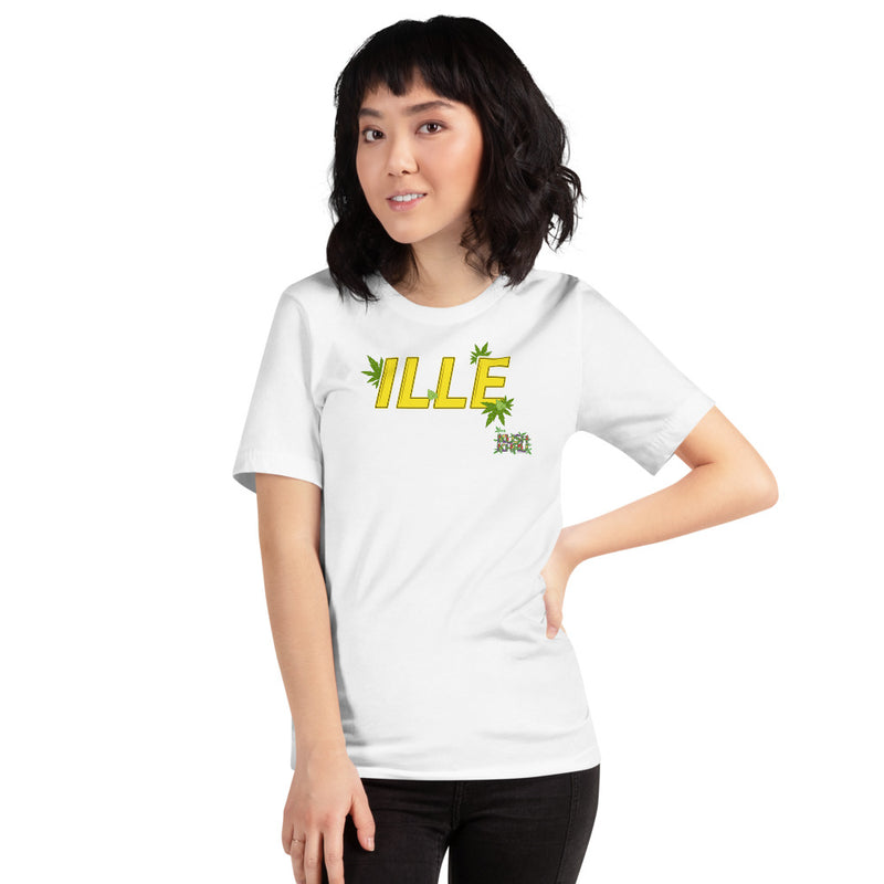 ILLE BUBBLE - TAG Short-Sleeve Unisex T-Shirt