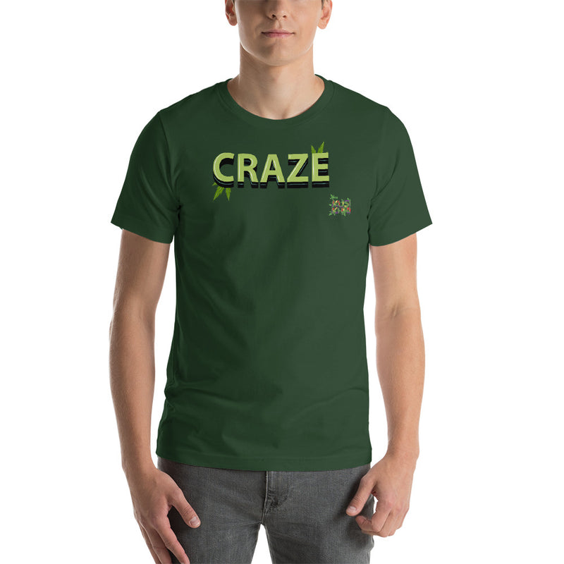 CRAZE TAG Short-Sleeve Unisex T-Shirt