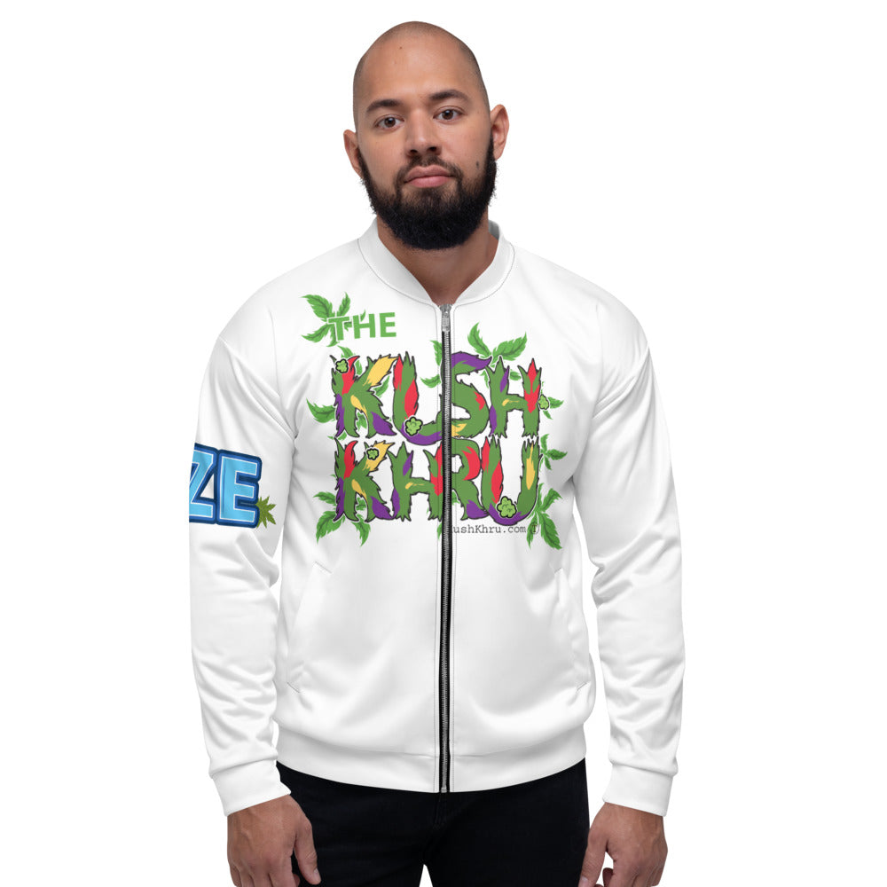 LAZE KUSH PRAK MODE Scope Unisex Bomber Jacket