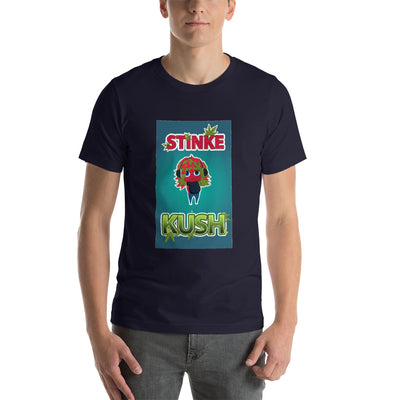 STINKE KUSH NAK Mode 4 Short-Sleeve Unisex T-Shirt