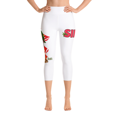 SILLE KUSH PRAK MODE Yoga Capri Leggings