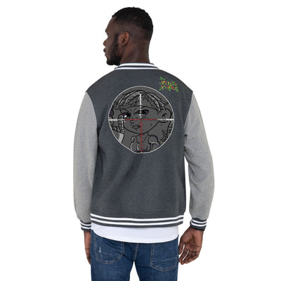 SEXE KUSH PRAK MODE Scope Men's Letterman Jacket