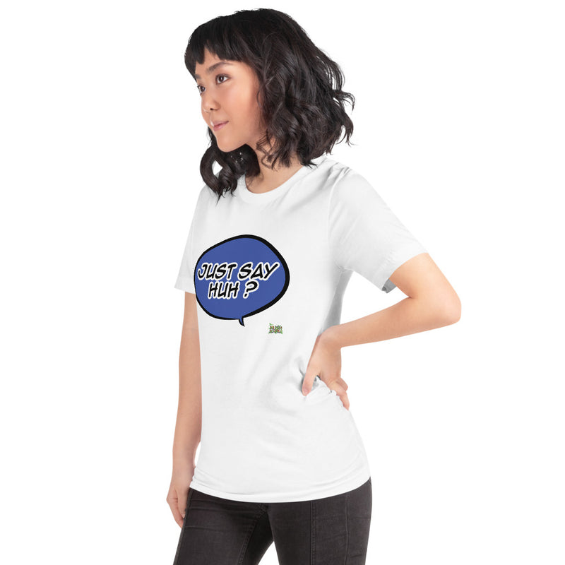 HUH KUSH BUBBLE Short-Sleeve Unisex T-Shirt