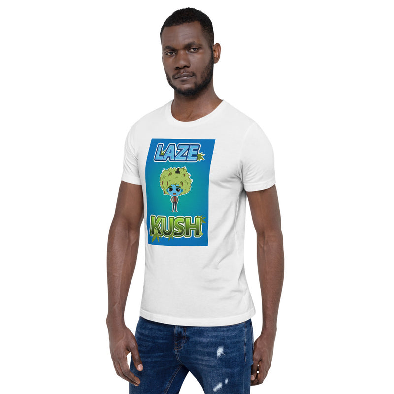 LAZE KUSH NAK Mode 4 Short-Sleeve Unisex T-Shirt