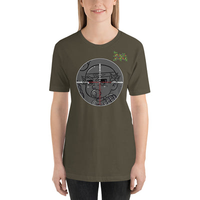 BABE KUSH PRAK MODE Scope Short-Sleeve Unisex T-Shirt