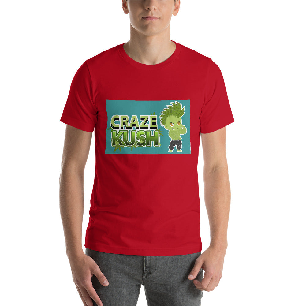 CRAZE KUSH NAK Mode 3 Short-Sleeve Unisex T-Shirt