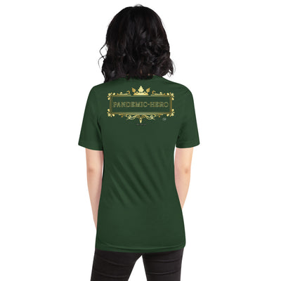 """PANDEMIC - HERO - 9"" Short-Sleeve Unisex T-Shirt"
