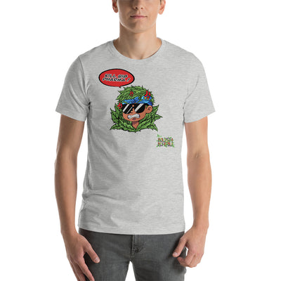 CALE KUSH HEAD Short-Sleeve Unisex T-Shirt