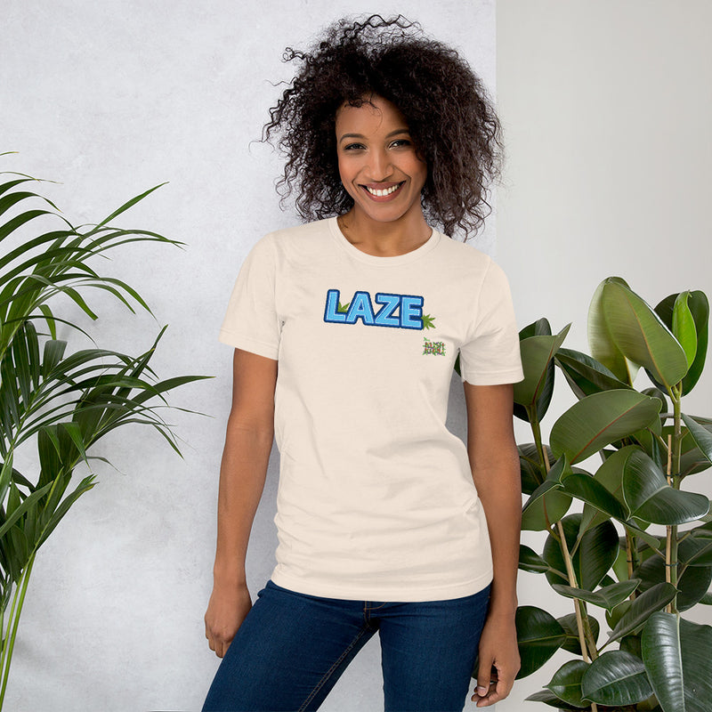 LAZE TAG Short-Sleeve Unisex T-Shirt