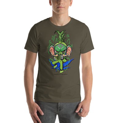 CRAZE KUSH KAR-FEA-YAM Mode Short-Sleeve Unisex T-Shirt