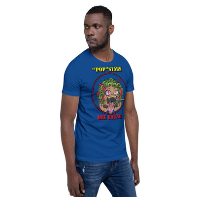 SILLE KUSH LOSER HEAD Short-Sleeve Unisex T-Shirt