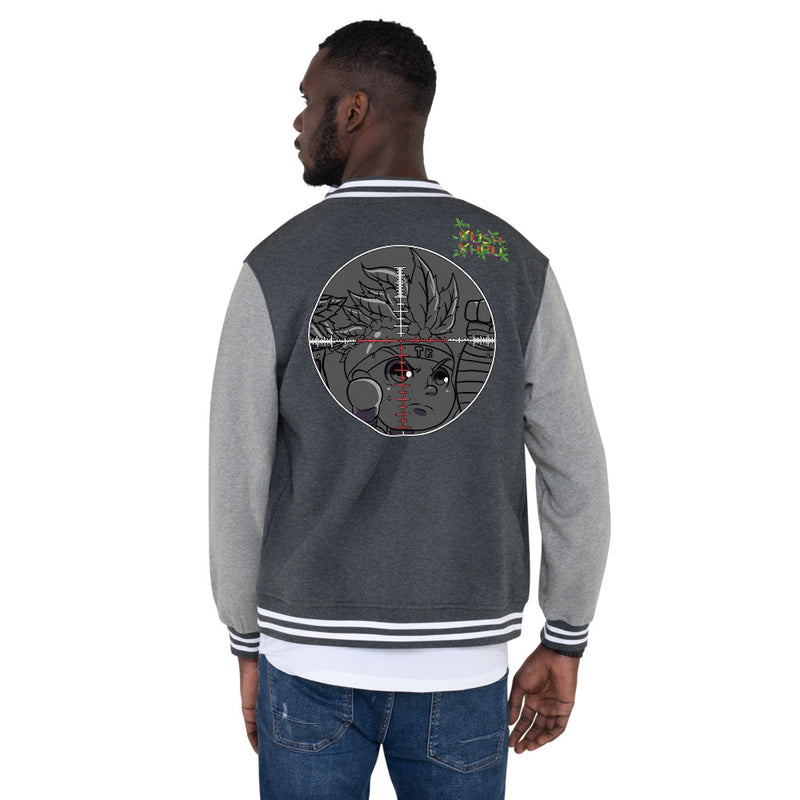 CRAZE KUSH PRAK MODE Scope Men's Letterman Jacket