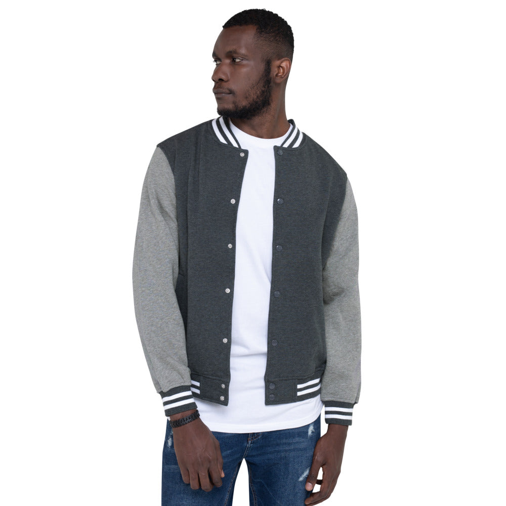 LAZE KUSH PRAK MODE Scope Men's Letterman Jacket