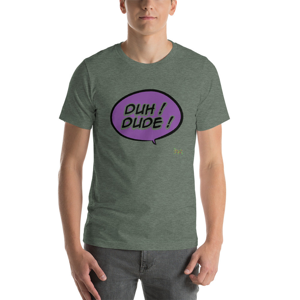 DUH KUSH BUBBLE Short-Sleeve Unisex T-Shirt
