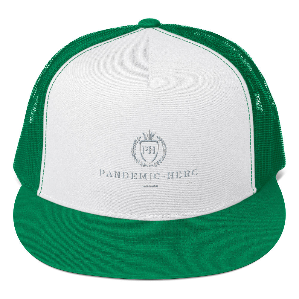 """PANDEMIC-HERO-1"" Trucker Cap"