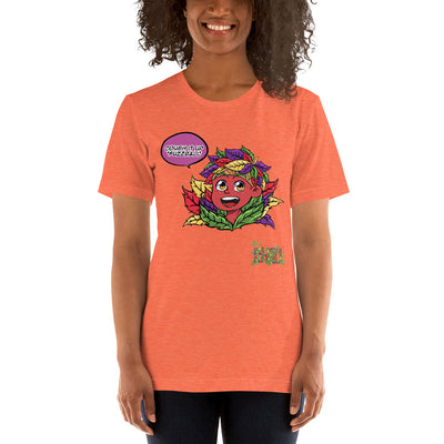 STICKE KUSH HEAD Short-Sleeve Unisex T-Shirt