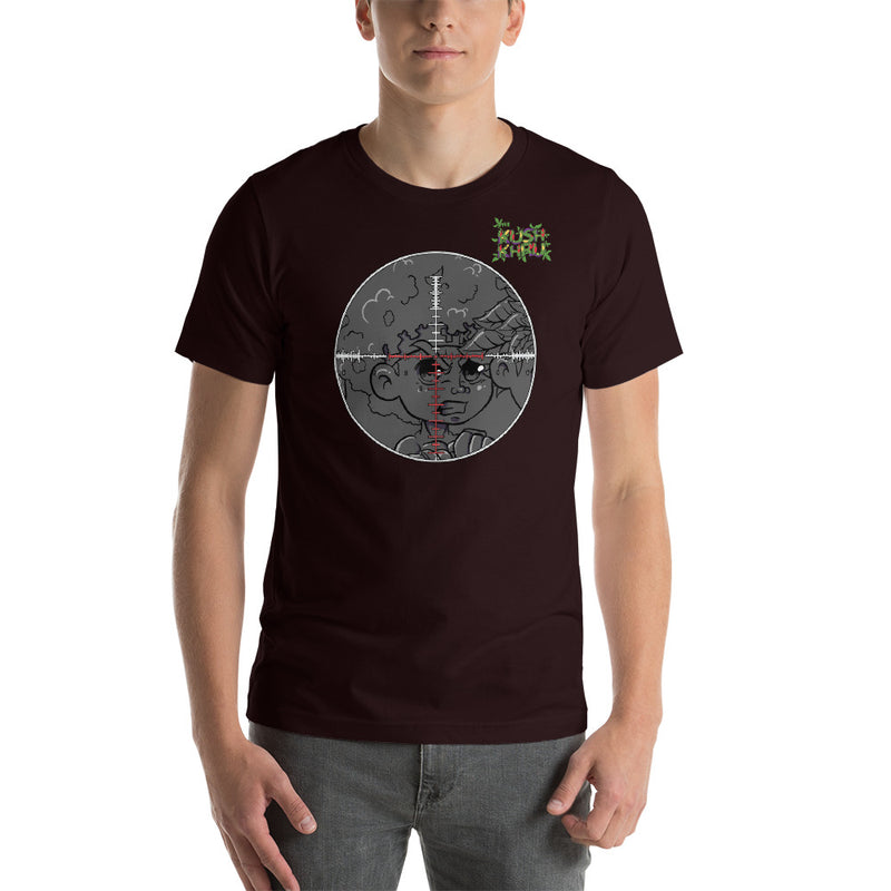 LAZE KUSH PRAK MODE Scope Short-Sleeve Unisex T-Shirt