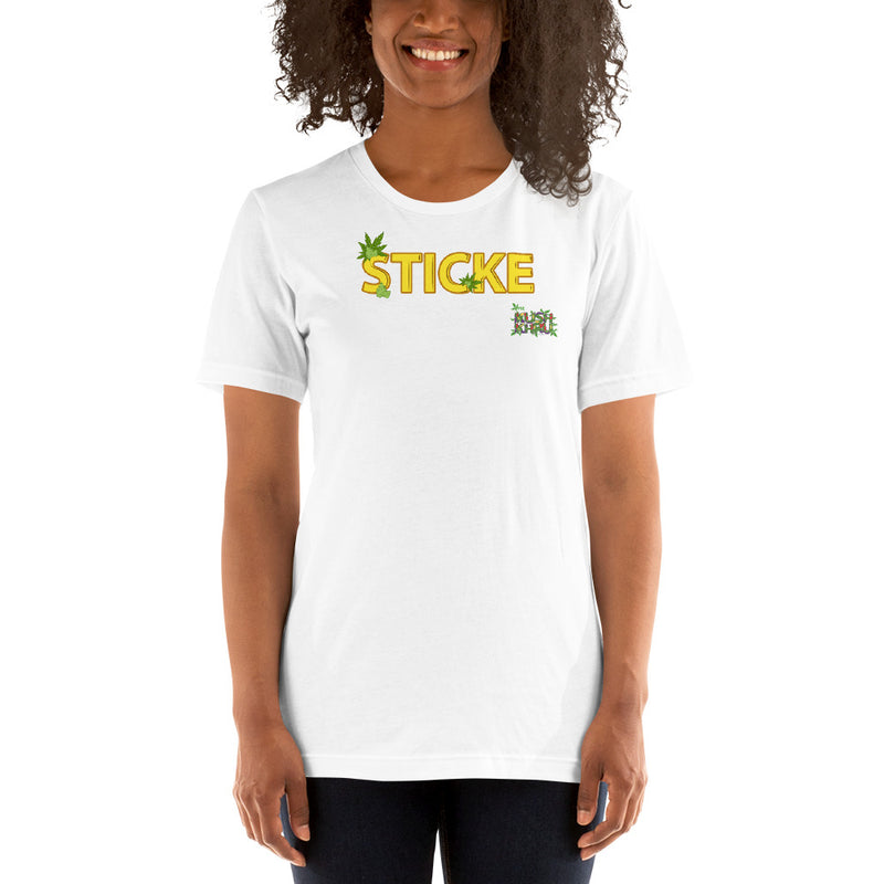 STICKE TAG Short-Sleeve Unisex T-Shirt