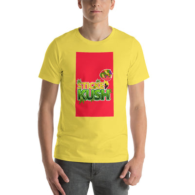 STICKE KUSH NAK Mode 6 Short-Sleeve Unisex T-Shirt