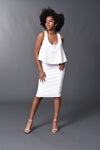 Kennedy - White Perfect Pencil Skirt - TN-53