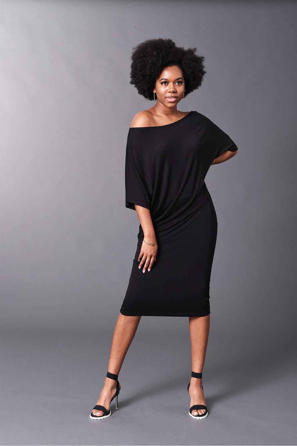 Kennedy - Black Perfect Pencil Skirt