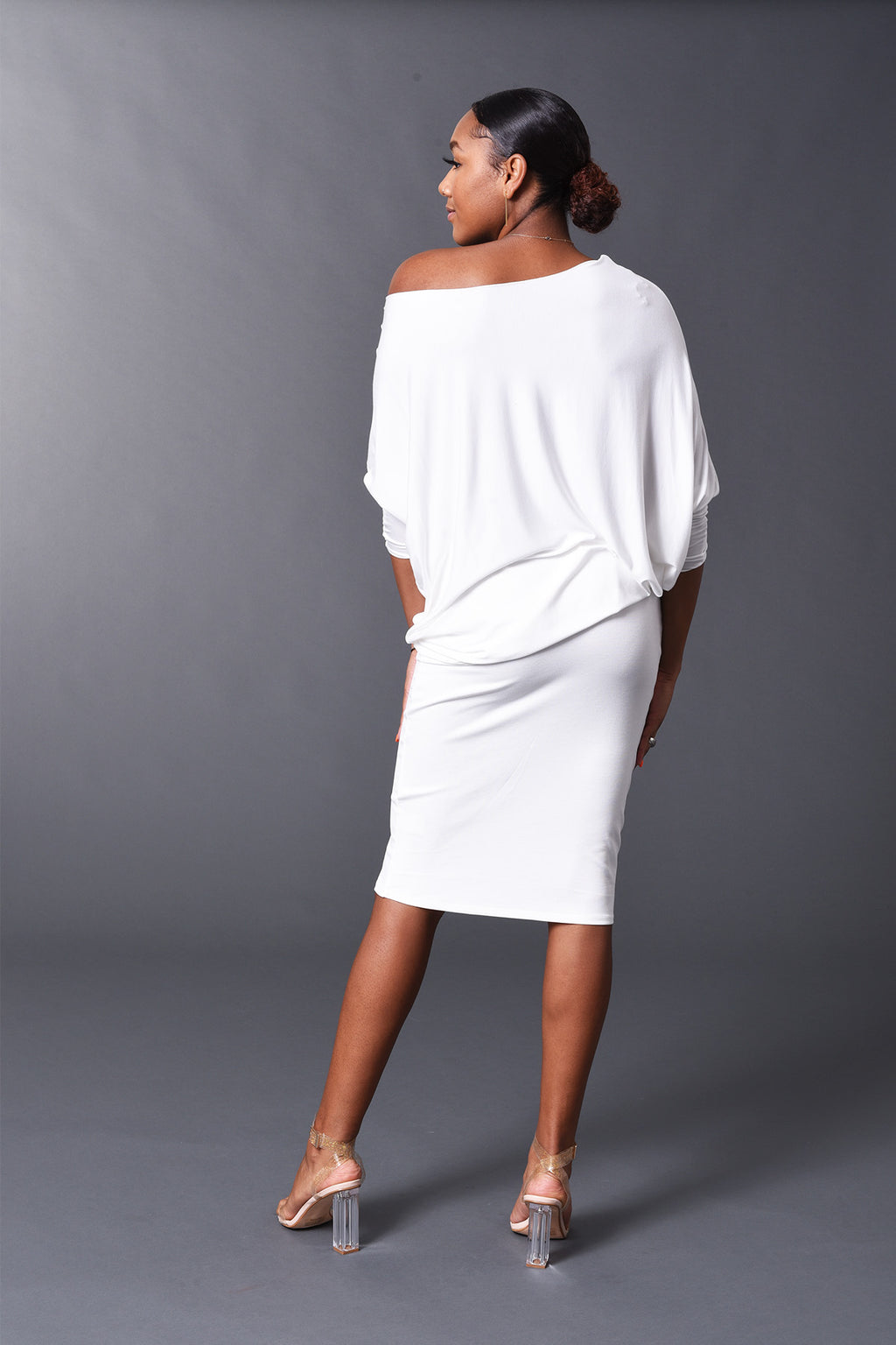 Kennedy - Spring/Summer White Perfect Pencil Skirt