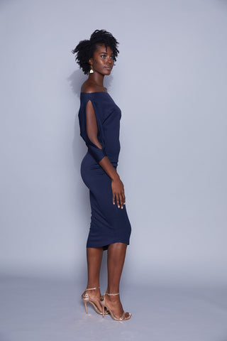 Madison - Lincoln Dress (Pre-Order) Navy or Black