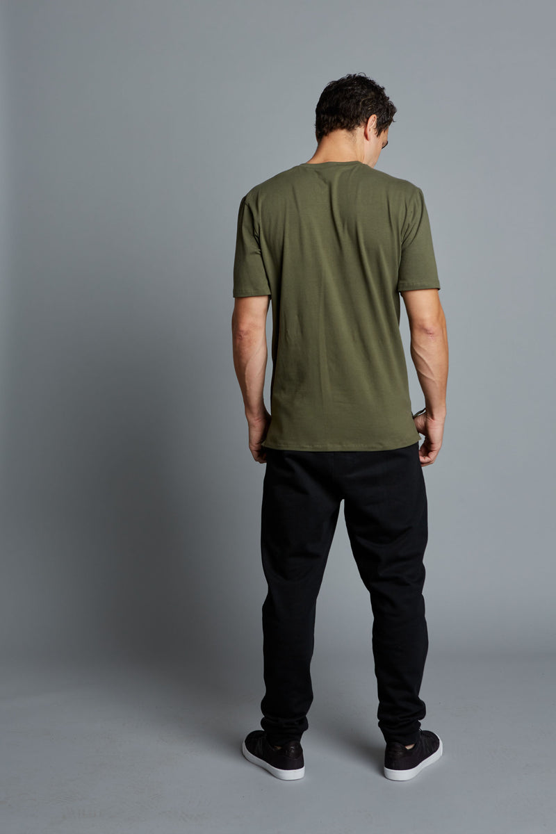 ADRIAN - Black Men's Casual Jogger (Pre-Order)