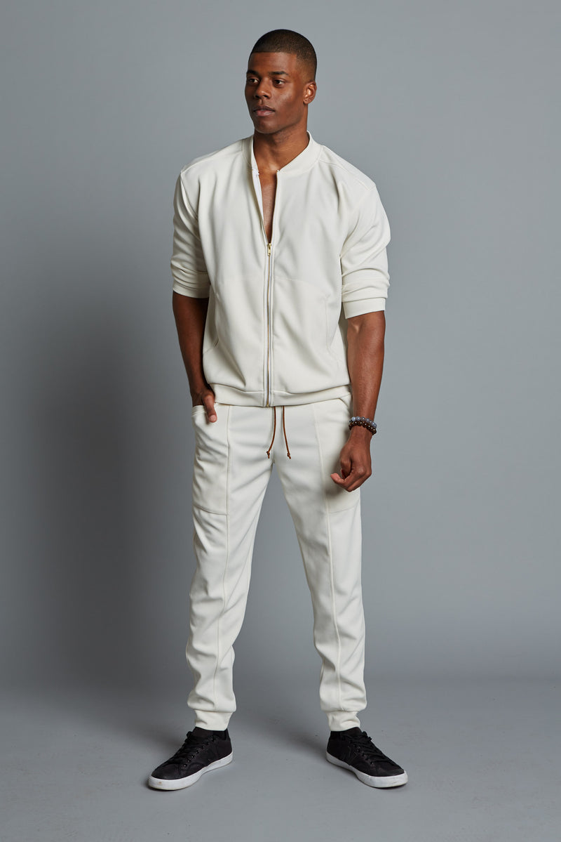 DREW - Men Cream Bomber