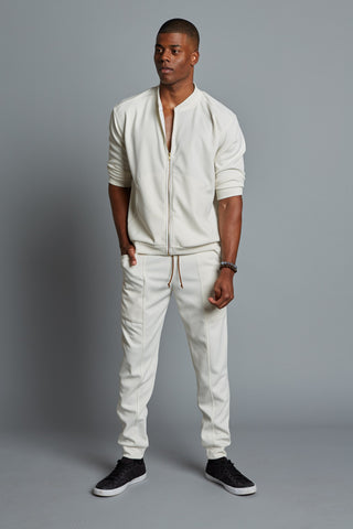 DREW - Men's Cream Classic Bomber