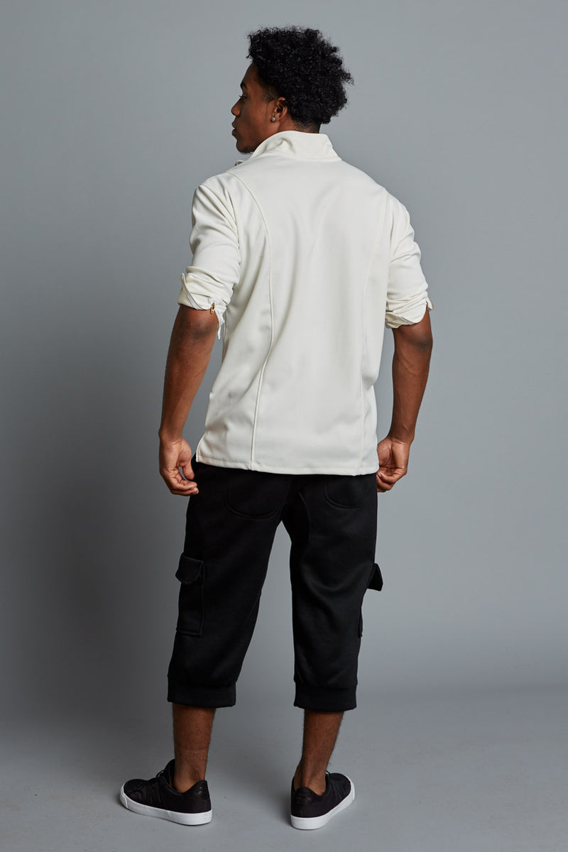 COLE - Cream Men's Classic Pullover (Pre-Order)