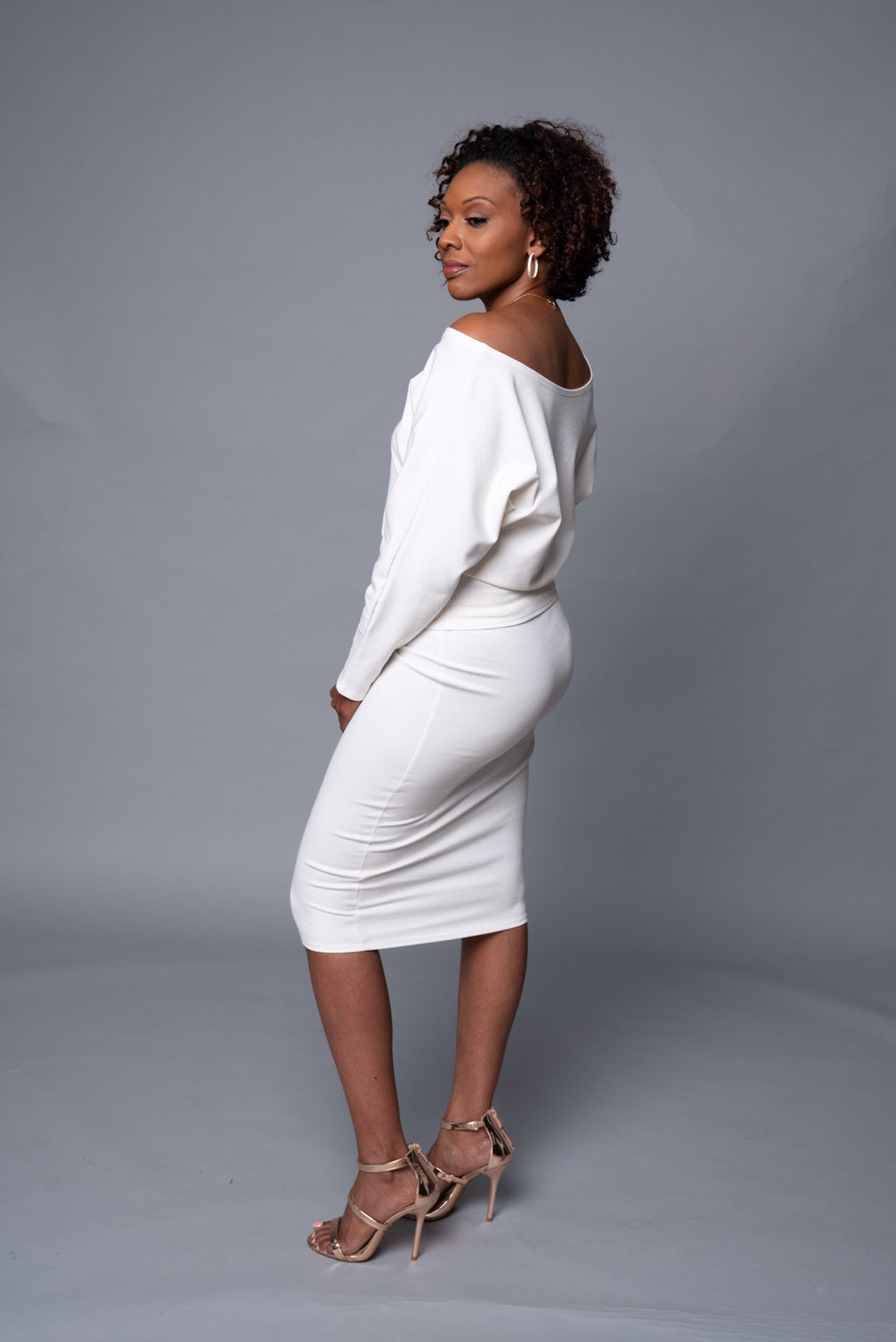 Kennedy - Creamy White Perfect Pencil Skirt