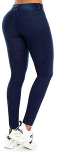 Valeria Push Up Jeans Dark Blue