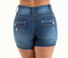 Load image into Gallery viewer, Rosario Push Up Shorts Dark Blue