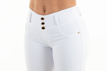 Load image into Gallery viewer, Jasmine Push Up Jeans White