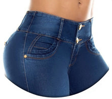 Load image into Gallery viewer, Sofia Push Up Jeans Blue