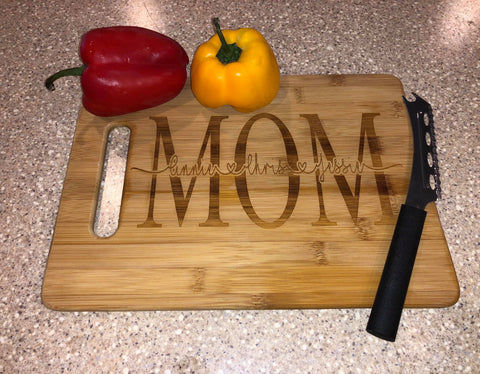 Customized Bamboo Cutting Board