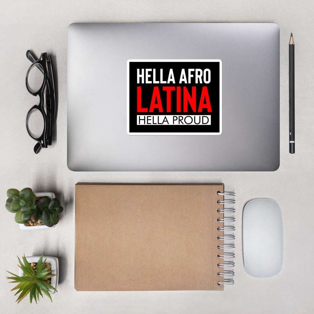 Afro Latina Bubble-free stickers
