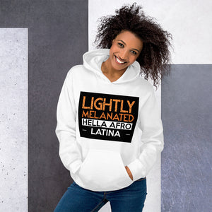 Lightly Melanated Unisex Hoodie